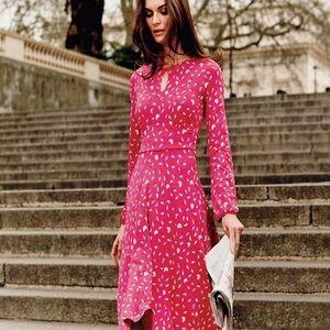 Boden Dresses - Boden Marilyn Fuscia Dress